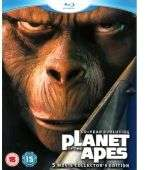 Planet of the Apes 40-Year Evolution Collector's Edition (5 discs) (Blu-ray) voor € 13,99 @ WOW HD