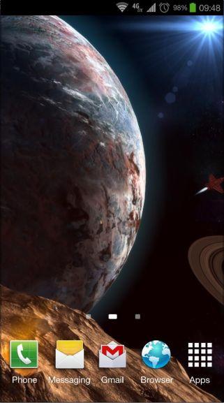 Google Playstore Planetscape 3D Live Wallpaper Pro