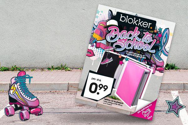 20% extra korting op back2school @Blokker