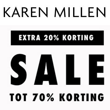 Met code 20% extra korting op sale tot -70% @ Karen Millen