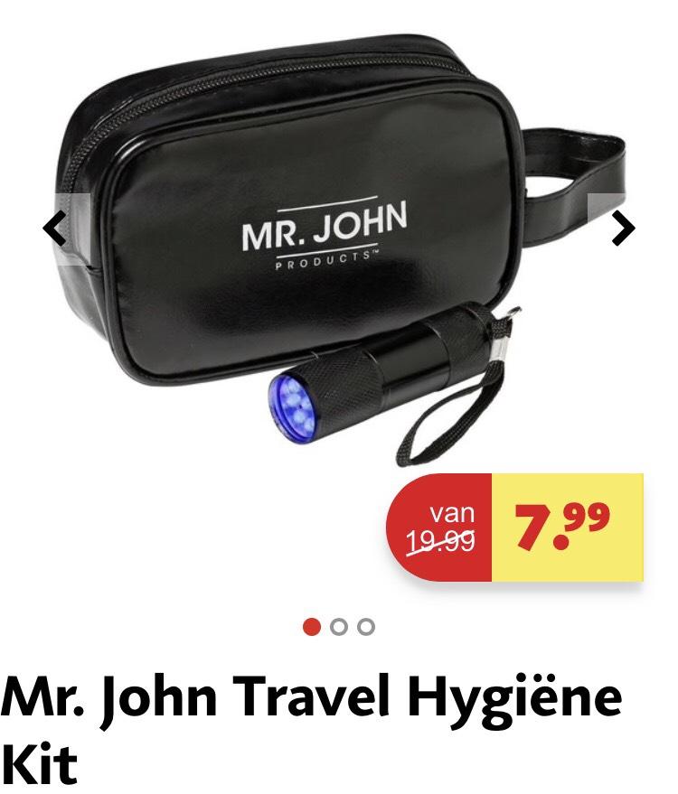 Mr. John Travel Hygiëne Kit - van 19,99 voor 7,99