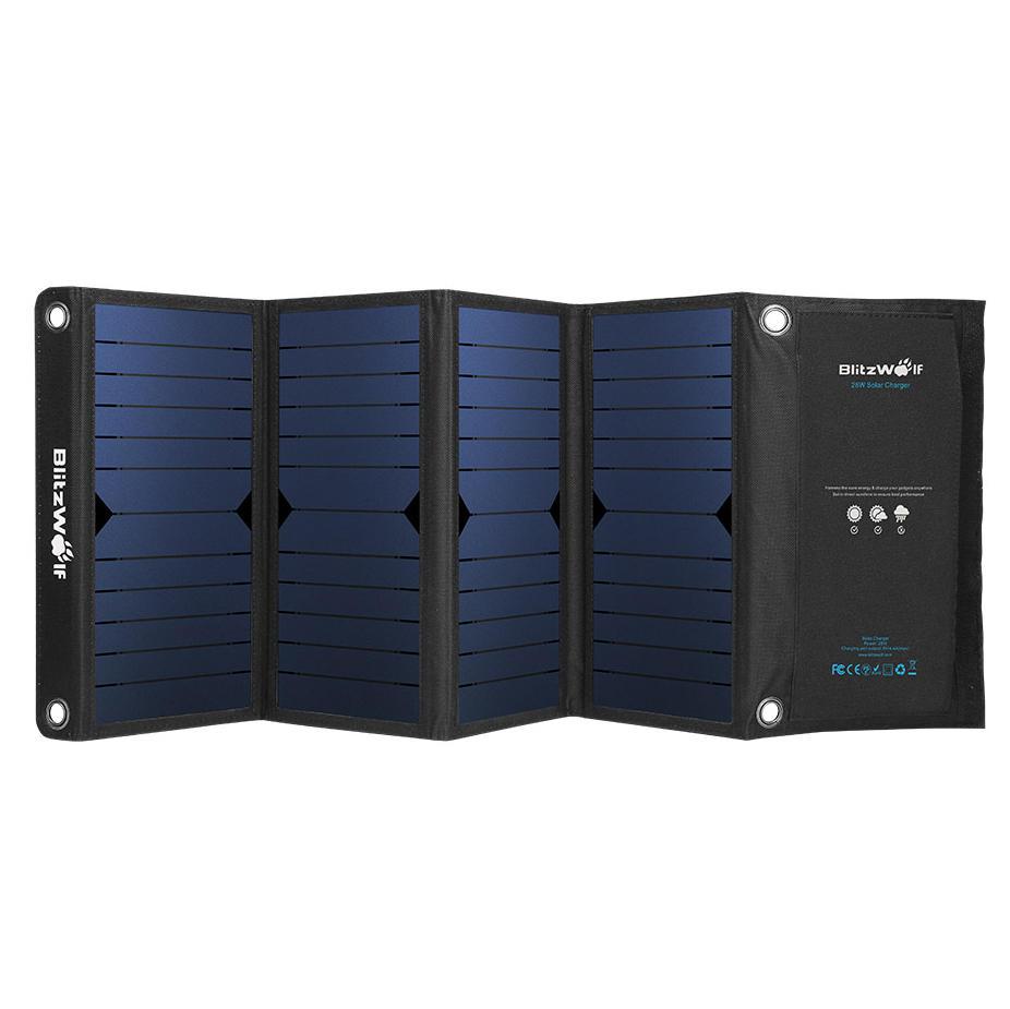 Blitzwolf 28w solar charger