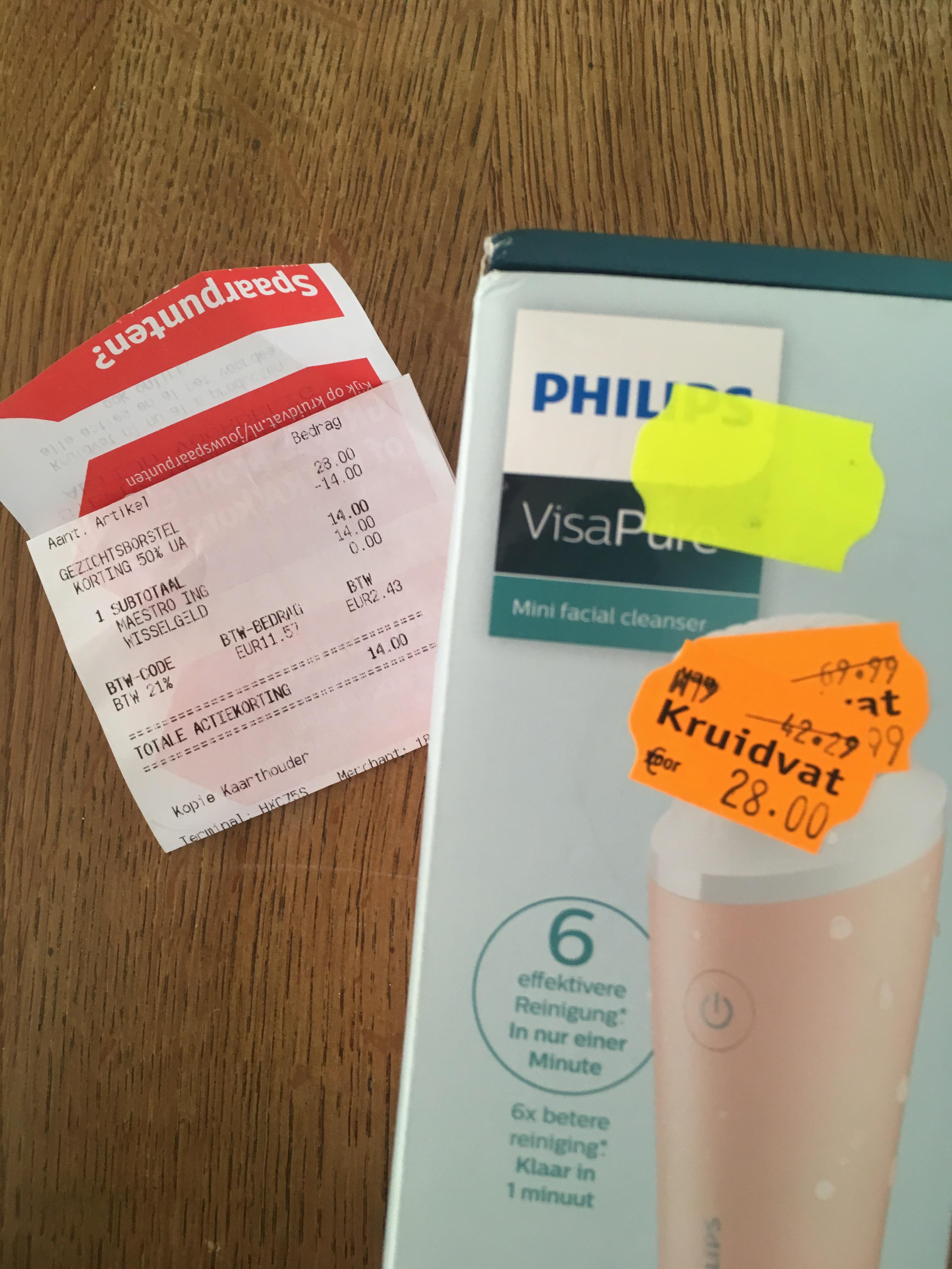 Kruidvat - Philips VisaPure mini facial cleanser