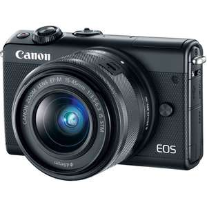 Canon EOS M100 + EF-M 15-45 mm IS STM voor 259,-/249,- na cashback @ Amazon Prime