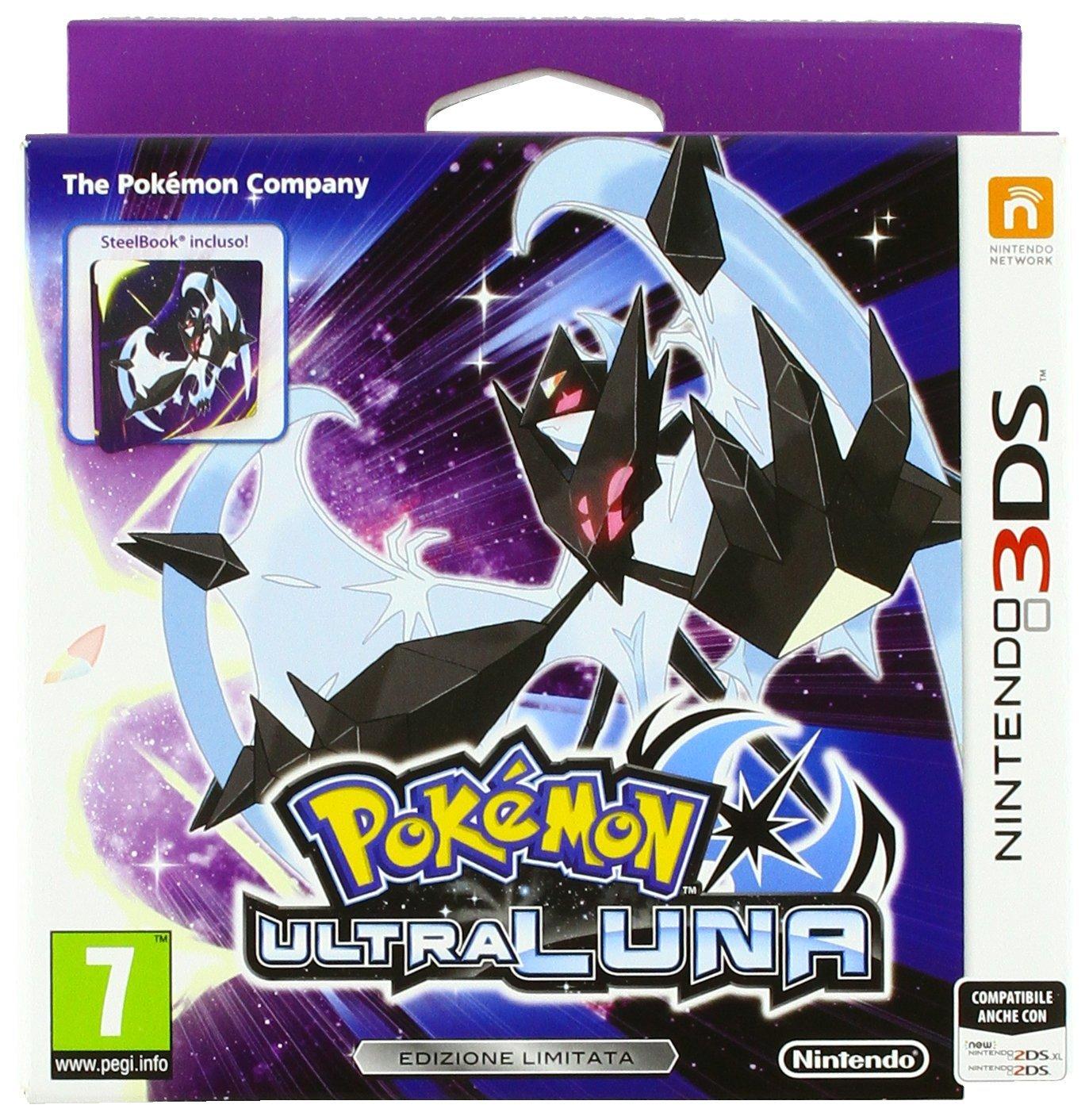 Pokemon: Ultra Moon - Fan Edition (3DS) voor €28,74 @ Amazon.it