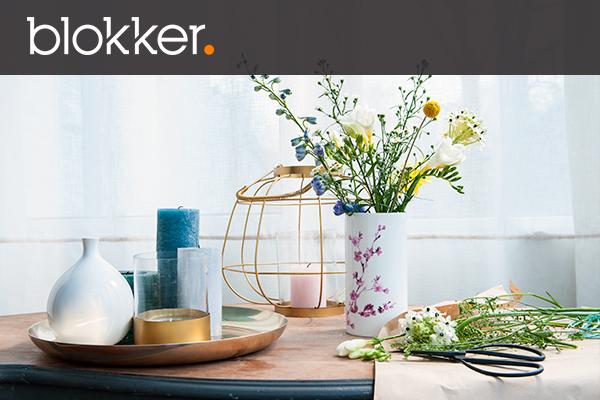 10% korting op een besteding vanaf €75 en €5 korting vanaf €30 in de winkels @ Blokker