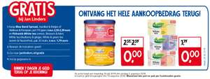 Gratis Blue Band Spread en Pickwick White tea bij Jan Linders