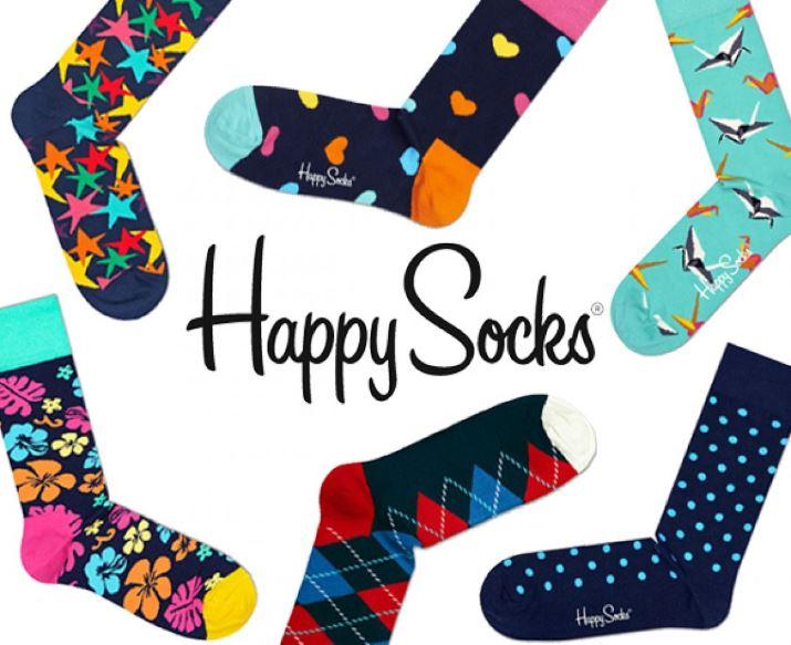 50% korting op Happy Socks @ Albert Heijn