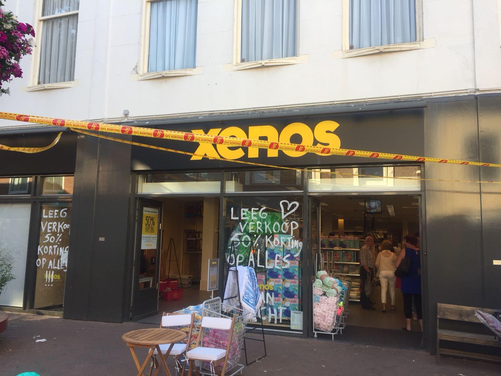 50% korting bij de Xenos in Apeldoorn