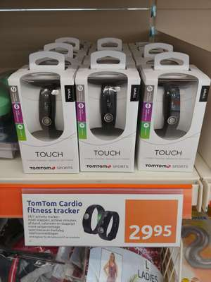 Tomtom touch cardio smartband