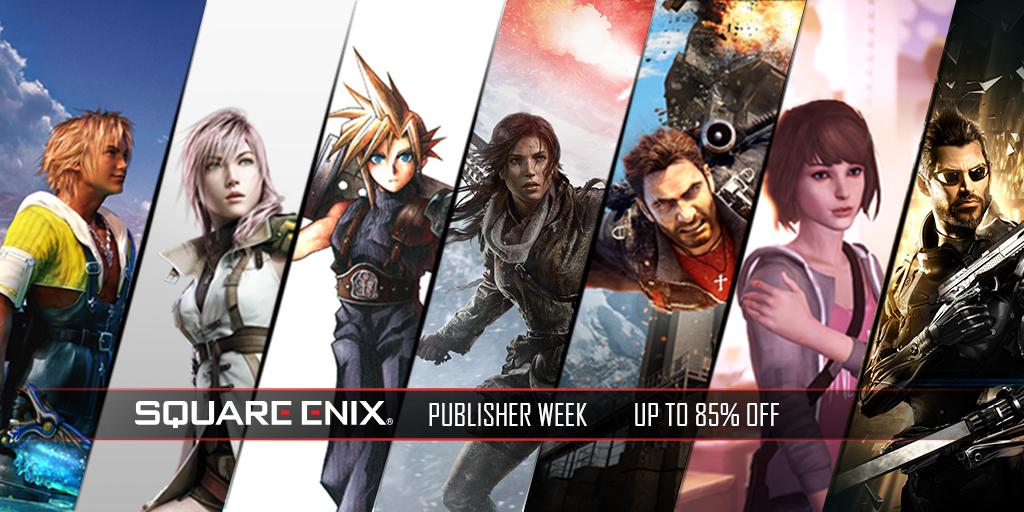 Humble bundle - Square Enix publisher week