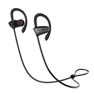 BlitzWolf® BW-BTS3 Sport Adjustable Earhooks Bluetooth Earphone voor €16,48 @ Banggood