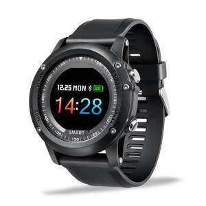 Bakeey T2 OLED Blood Oxygen Pressure Heart Rate IP68 Waterproof Long Standby Sports Smart Watch