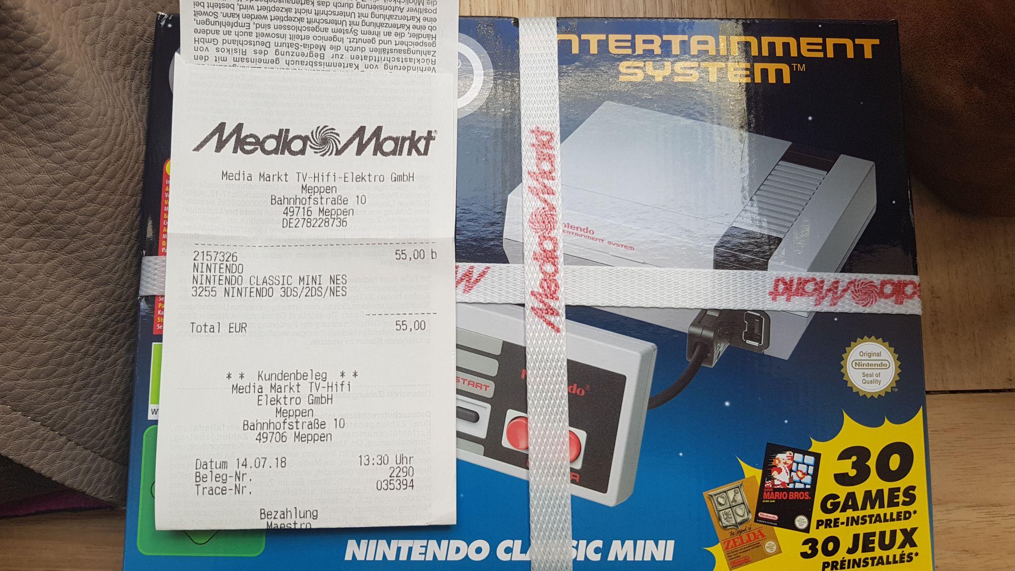 Grensdeal Nintendo classic mini