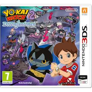 Yo-Kai Watch 2 - Droomfantomen (3DS) voor €5,98 + meer @ Intertoys