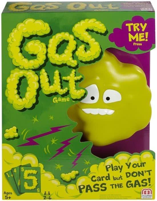Gas Out kaartspel van Mattel -73% @ Bol.com