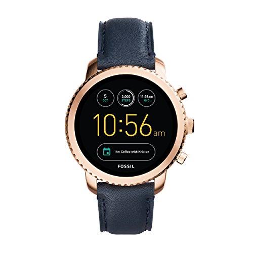Fossil Q Explorist FTW4002 (rosé goud) smartwatch voor €135,99 @ Amazon.de
