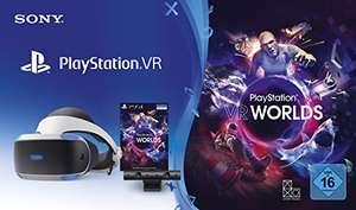 PlayStation VR V2 + Camera + VR Worlds+ 2x Move Controller