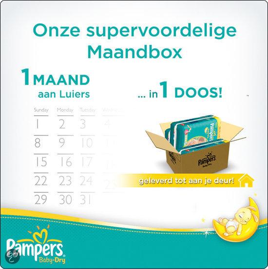 Pampers maandboxen vanaf €39,75 door 10% en €7,50 korting + gratis bezorging @ Wehkamp