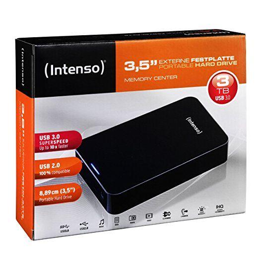 Intenso 3TB USB 3.0 Harddisk (externe) @ Aldi Den Bosch