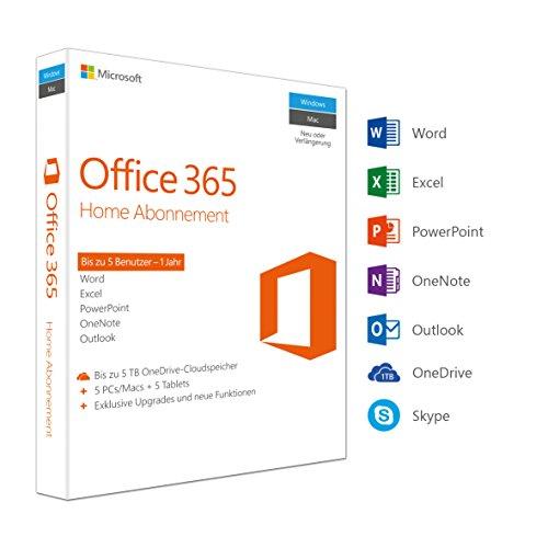 Office 365 Home - 5PC's - 1 Jaar - Amazon Prime