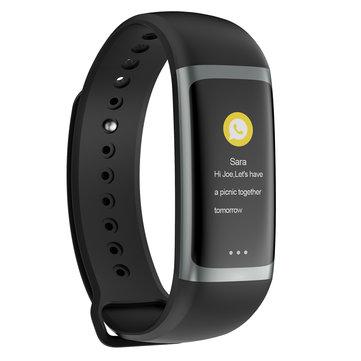 "Bakeey G26 0,96 ""Kleurweergave Bloedzuurstofdruk Hartslag Slaapherinnering Fitness Smart Watch,Preorder"