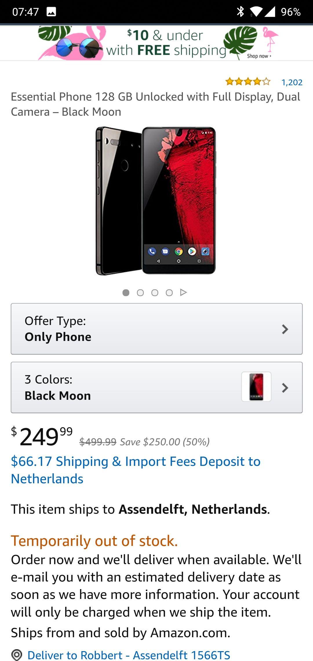 Essential Phone (Amazon.com)