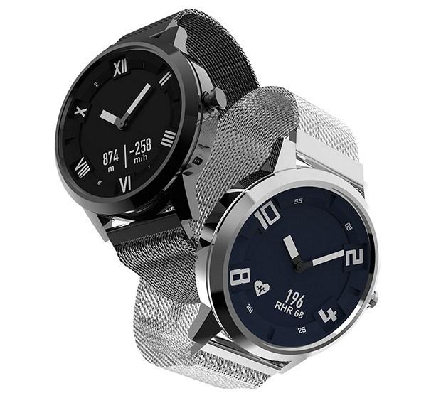 New hybride horloge Lenovo Watch X (Zwart) voor 48.69€ @Aliexpress
