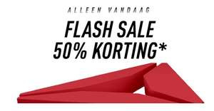 Flash sale reebok - 50% korting op de Outlet @reebok