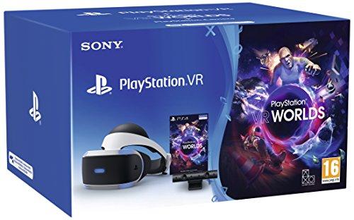 [Prime Deal] PS VR V2 + Camera + VR Worlds (Voucher) - PlayStation 4 [Bundle] @ Amazon.it