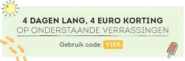 Greetz - 4 dagen lang €4 korting