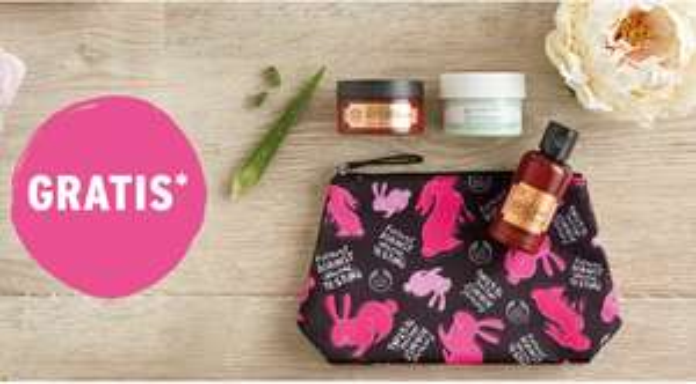 Gratis Forever Against Animal Testing-make-uptas cadeau twv € 18.50 bij aankopen vanaf € 40,-