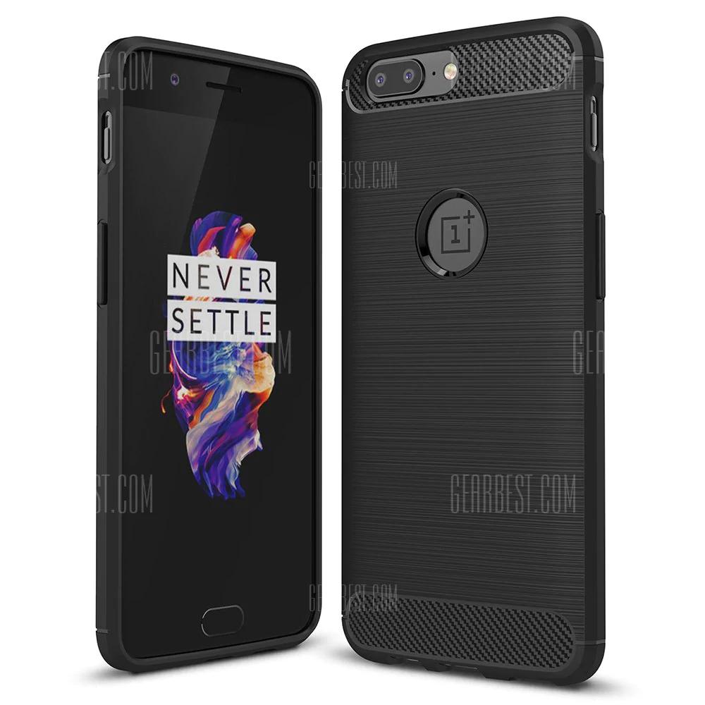 Luanke Back Case for OnePlus 5 voor €0,9 @ Gearbest