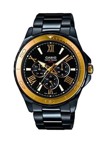 Casio herenhorloge MTD-1075BK-1A9VEF voor €48 na code @ Amazon.co.uk