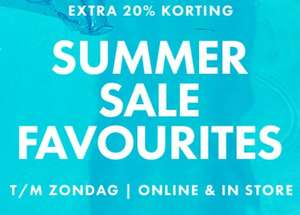 Alle SALE 20% EXTRA korting @ WE Fashion