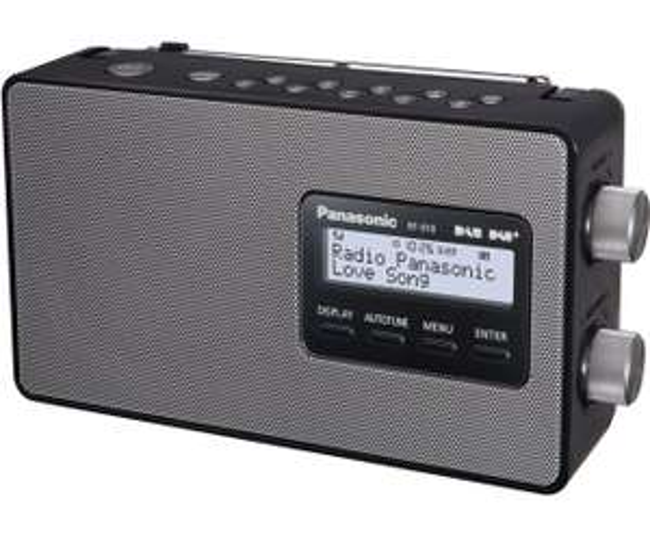 Panasonic RF-D10EG-K DAB+ radio voor €55 @ AO.nl