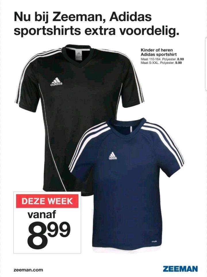 @Zeeman, Adidas t-shirt vanaf €8.99