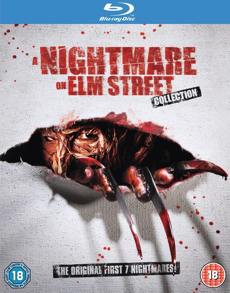 Nightmare On Elm Street Collection 1 t/m 7 [Blu-ray] @ Zavvi
