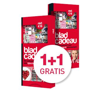 Cadeaukaart 1+1 gratis @ BladCadeau