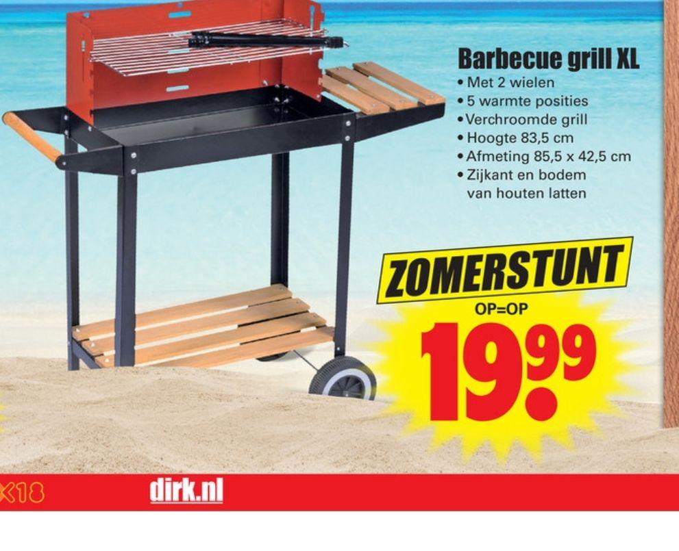 Barbecue grill xl