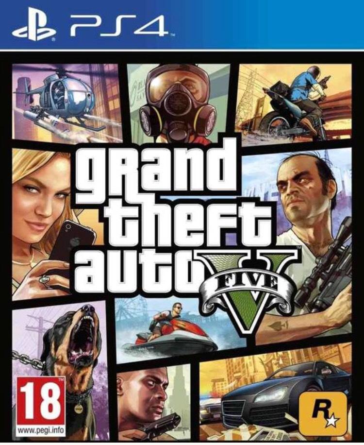 GTA V - PS4 / Xbox One