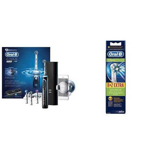 Amazon Oral B OralB Oral-B 9000N Genius elektrische tandenborstel + 10 borstels