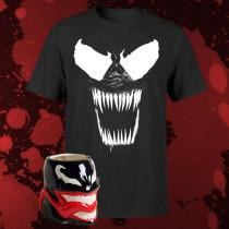 Venom t-shirt + mok voor €17,99 @ Zavvi.nl