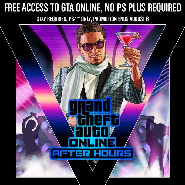 Speel GTA Online tot 6 augustus zonder Playstation Plus