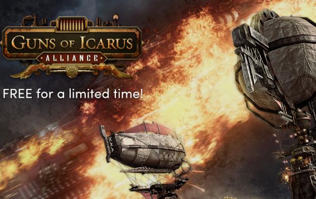 Guns of Icarus Alliance tijdelijk gratis @ Humble Bundle