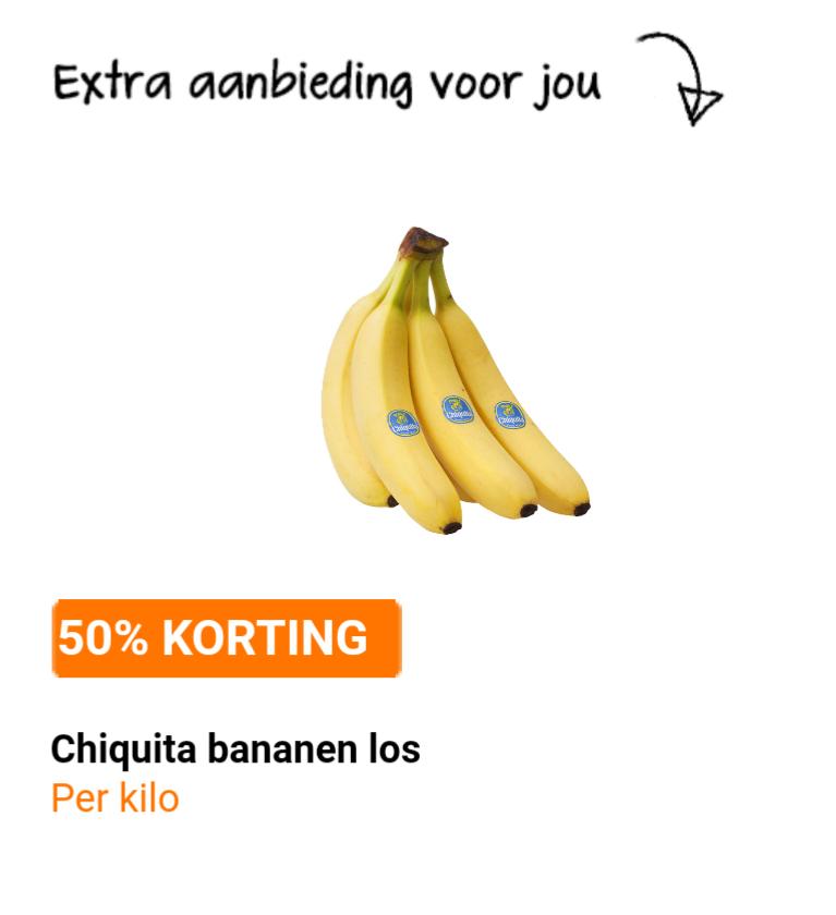Chiquita 50% korting