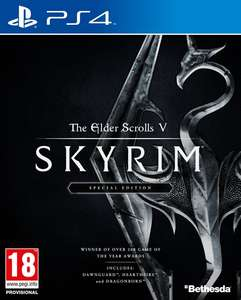 The Elder Scrolls V: Skyrim Special Edition (PS4/Xbox One) voor €16,99 @ bol.com