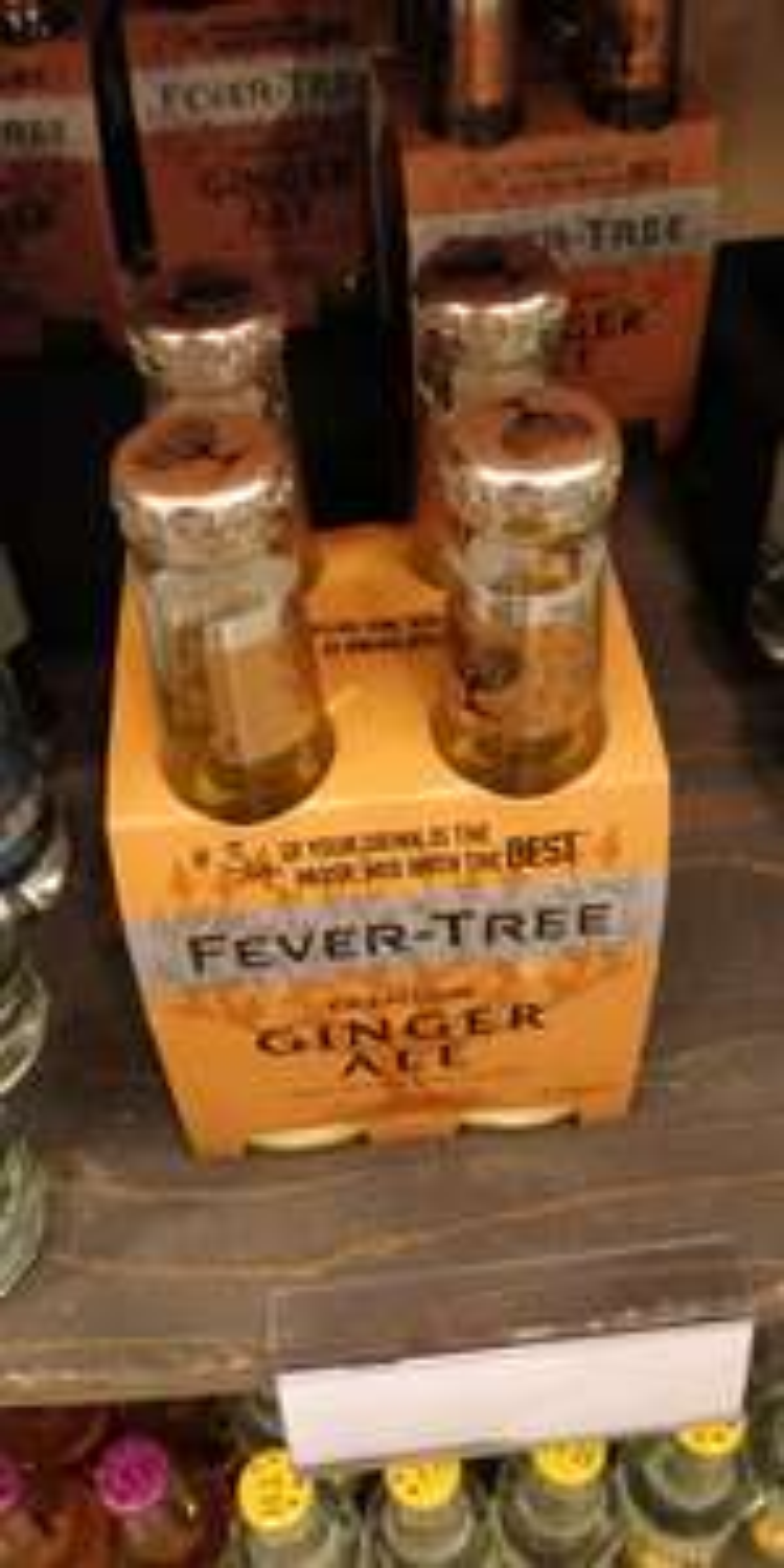 PRIJSFOUT.  4 pack fever-tree Ginger ale voor 1 cent bij Dirck iii