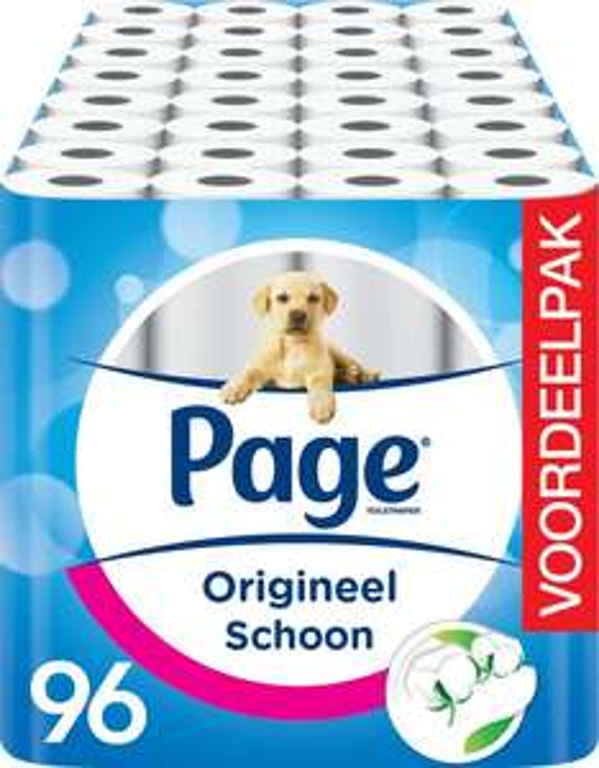 Voordeelverpakking Page toiletpapier - 96 rollen voor €23,99 @ bol.com