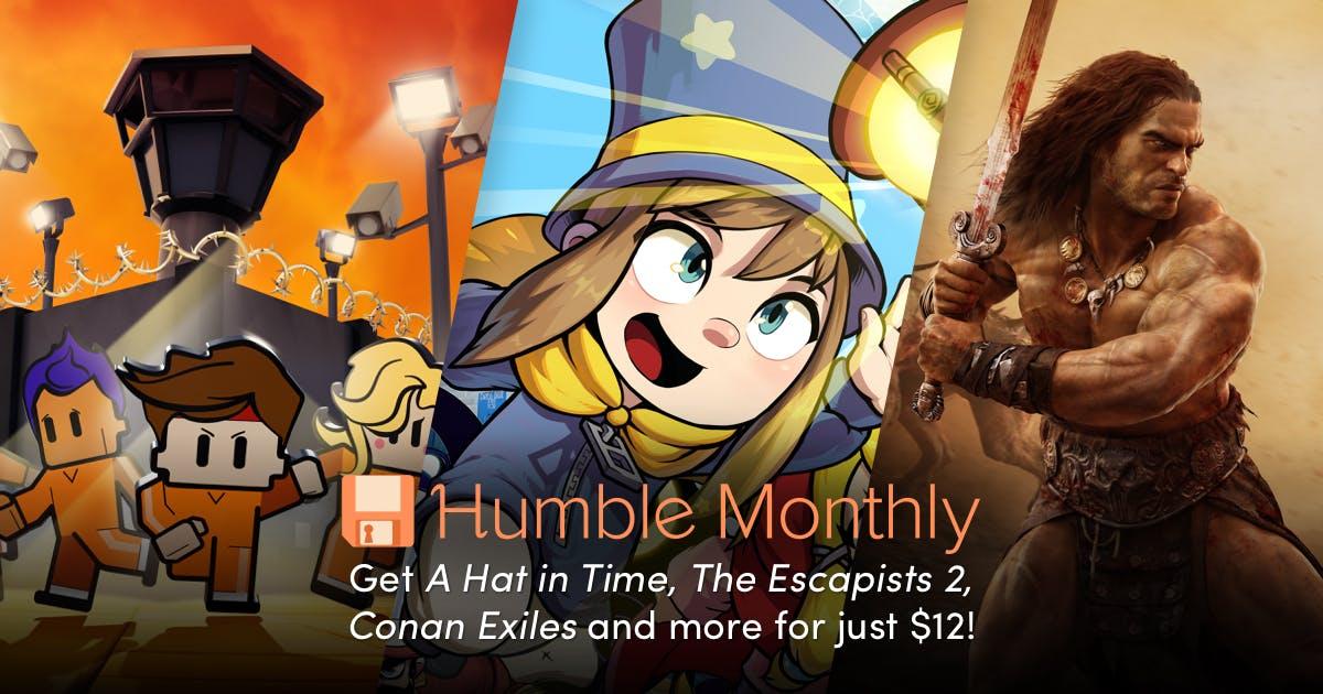 Humble Monthly Met 20$ Store Credit (1 jaar)